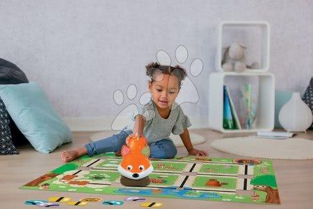 Interaktív játék rókával Foxy Smart Smoby 2 tervező játékkal (angol, francia, német)