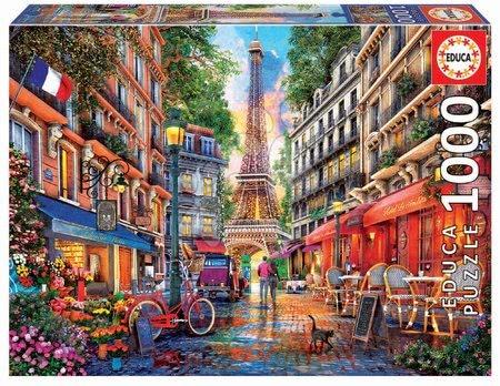 1000 darabos puzzle - Puzzle Paris Dominic Davison Educa 1000 darabos és Fix ragasztóval a csomagban 11 évtől
