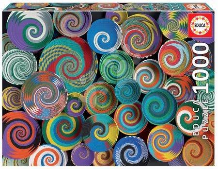 1000 darabos puzzle - Puzzle Collage Andrea Tilk Educa 1000 darabos és Fix ragasztóval a csomagban 11 évtől