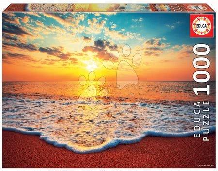 1000 darabos puzzle - Puzzle Sunset Educa 1000 darabos és Fix ragasztóval a csomagban 11 évtől