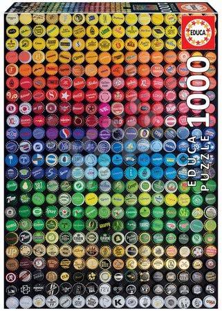 1000 darabos puzzle - Puzzle Collage Chapas Educa 1000 darabos és Fix ragasztóval a csomagban 11 évtől