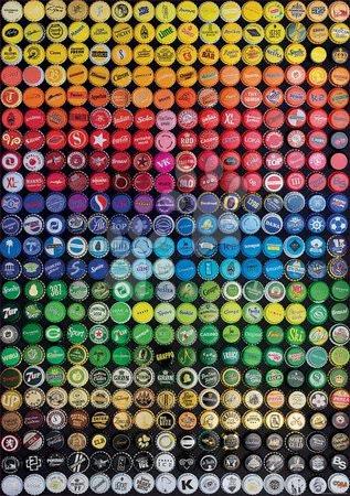 1000 darabos puzzle - Puzzle Collage Chapas Educa 1000 darabos és Fix ragasztóval a csomagban 11 évtől_1