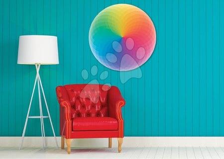 1000 darabos puzzle - Puzzle Rainbow Round Educa 800 darabos és Fix ragasztó 11 évtől_1