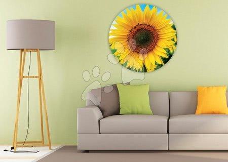 1000 darabos puzzle - Puzzle Sunflower Round Educa 800 darabos és Fix ragasztó 11 évtől_1