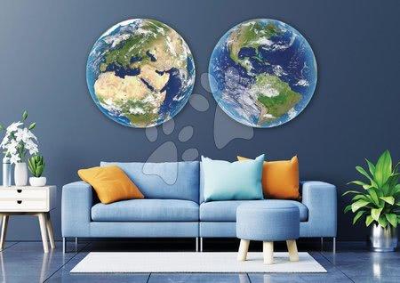 Igračke za sve od 10 godina - Puzzle Planet Earth Round Educa 2x 800 dijelova i Fix ljepilo od 11 godina_1