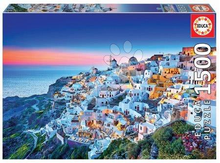Igračke za sve od 10 godina - Puzzle Santorini Educa 1500 dijelova i Fix ljepilo od 11 godina