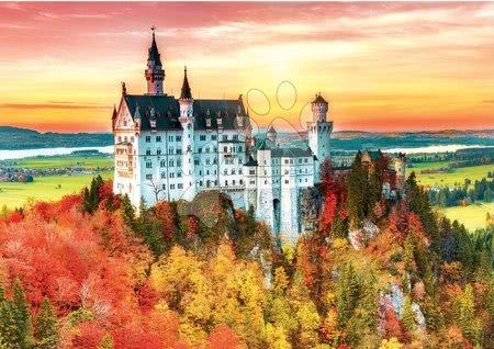 Igračke za sve od 10 godina - Puzzle Autumn in Neuschwanstein Educa 1500 dijelova i Fix ljepilo od 11 godina_1