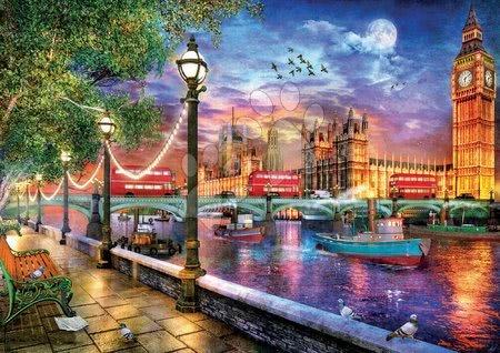 Igračke za sve od 10 godina - Puzzle London at Sunset Dominic Davison Educa 2000 dijelova i Fix ljepilo od 11 godina_1