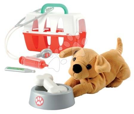 Medicinska kolica za djecu - Medicinska košara Écoiffier za psića sa zdjelicom i medicinskim dodacima od 18 mjes_1