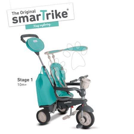 Tricicletă Voyage 4in1 smarTrike albastru deschis de la 10 luni