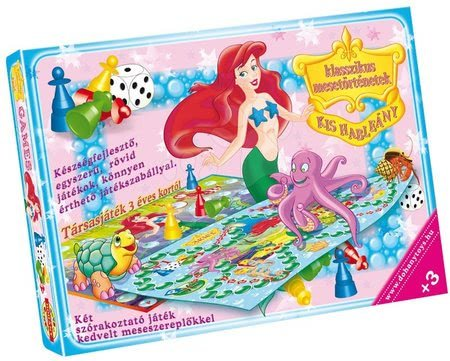 Družabna igra za najmlajše Mala morska deklica Dohány