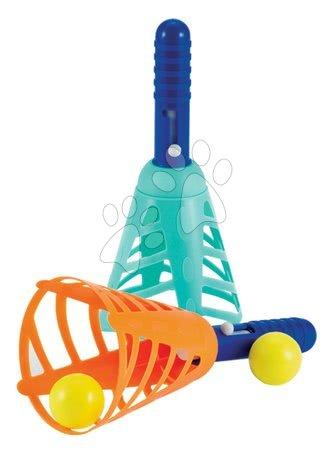 Športové hry pre deti - Hra s loptičkami Écoiffier zelená / červená od 18 mes