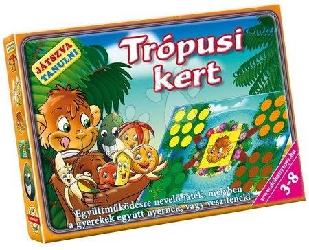 Jocuri de societate pentru copii - Joc de societate Grădină tropicală Dohány de la 4 ani