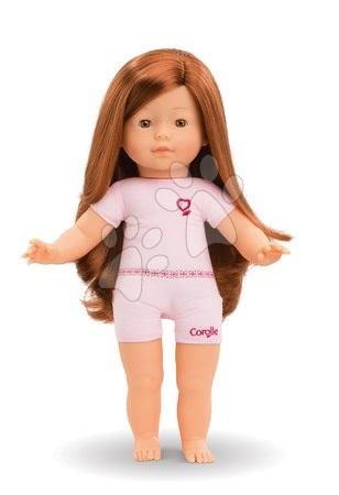 Bábika na obliekanie Prune Ma Corolle dlhé ryšavé vlasy a hnedé klipkajúce oči 36 cm od 4 rokov