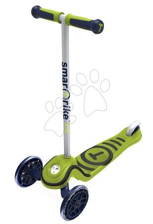 Trotinete - Trotinetă T3 smarTrike cu sistem T-lock luni capacitatea maximă 20 kg verde_1