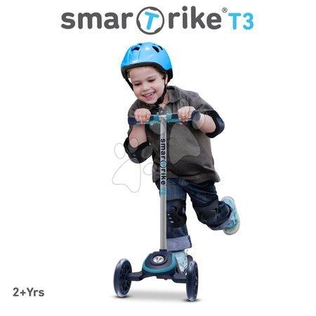 Trotinete - Trotinetă T3 smarTrike cu sistem T-lock albastră de la 24 luni_1