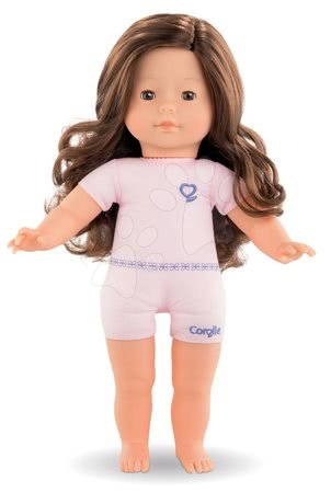Bábika na obliekanie Pénélope Ma Corolle dlhé hnedé vlasy a hnedé klipkajúce oči 36 cm od 4 rokov