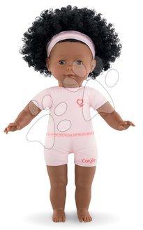Vyskladaj si hračky podľa predstáv - Bábika na obliekanie Pauline Ma Corolle kučeravé čierne vlasy a hnedé klipkajúce oči 36 cm od 4 rokov