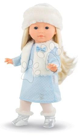 Corolle - Păpușa Priscille Ma Corolle rochie albastru pal și ochi albaștrii clipitori 36 cm - Ediție specială de la 4 ani_1