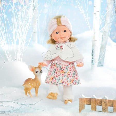 Corolle - Păpușă cu pelerină Ma Corolle Priscille Blossom Winter Corolle cu ochi albaștri 36 cm - ediție limitată de la 4 ani_1
