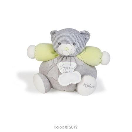 Plyšový medvídek Zen-Chubby Bear Kaloo 18 cm v dárkovém balení pro nejmenší šedo-zelený