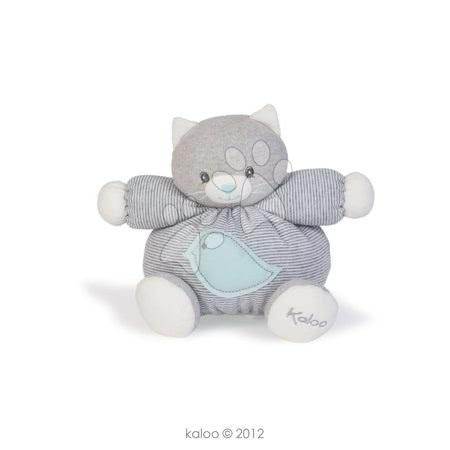 Plyšová kočička Zen-Chubby Cat Kaloo 18 cm v dárkovém balení pro nejmenší žíhaná