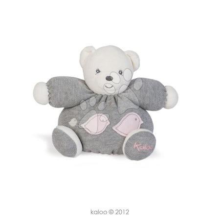 Plyšový medvídek Zen-Knitted Bear Kaloo s úpletem 18 cm v dárkovém balení pro nejmenší