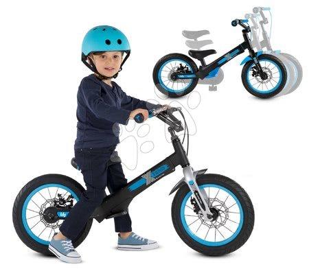 Kolo Xtend Mg+Bike Black Blue smarTrike rozšiřitelný rám z magnézia a 2 kotoučové brzdy od 3–7 let