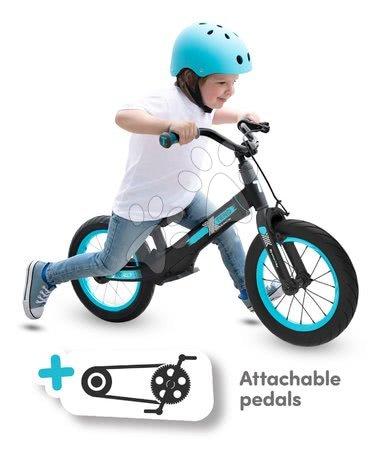 smarTrike - Bicykel Xtend Mg+Bike Black Blue smarTrike rozšíriteľný rám z magnézia a 2 kotúčové brzdy od 3-7 rokov_1