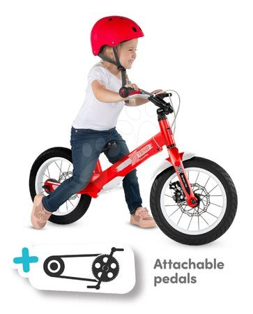 smarTrike - Bicykel Xtend Mg+Bike Red smarTrike rozšíriteľný rám z magnézia a 2 kotúčové brzdy od 3-7 rokov_1