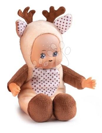 Panenky od 9 měsíců - Panenka v kostýmu Srneček Mini Animal Doll MiniKiss Smoby 20 cm od 12 měsíců