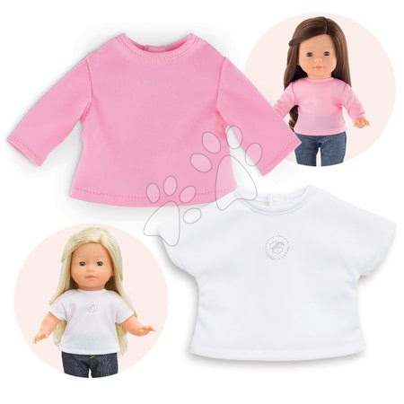210130 a corolle 2 t shirts 36cm