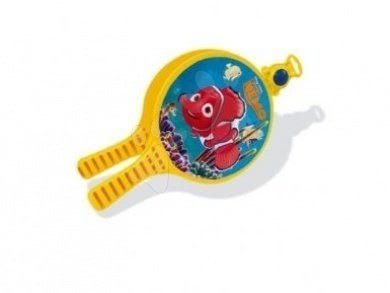 Športové hry pre deti - Plážový tenis Hľadá sa Nemo Smoby s 2 raketami a loptičkou