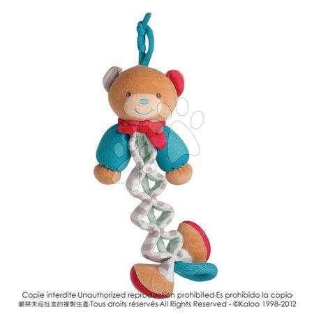Plyšový medvedík Bliss-Zig Kaloo spievajúci naťahovací 25-40 cm v darčekovom balení pre najmenších
