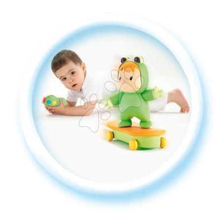 Jucării pentru bebeluși - Set măsuţă interactivă Cotoons Smoby albastră cu funcţii şi skateboarder cu telecomandă_1