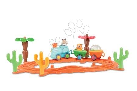 Hudební vláček Cotoons Smoby s figurkami Cotoons na baterie od 12 měsíců