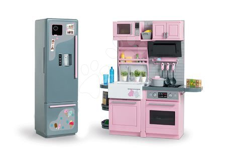 Corolle - Bucătărie electronică cu frigider Ma Corolle pentru păpușă de 36 cm de la 4 ani_1