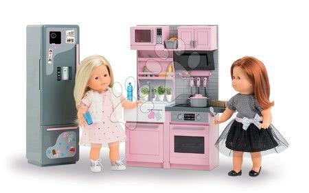Corolle - Bucătărie electronică cu frigider Ma Corolle pentru păpușă de 36 cm de la 4 ani