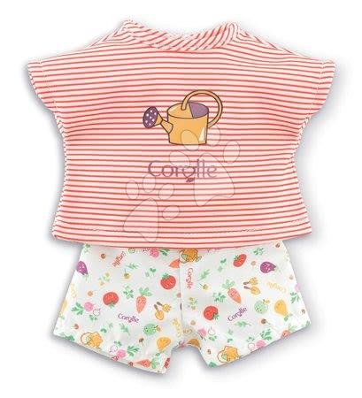 Oblačilo T-Shirt&Shorts Garden Delights Ma Corolle za 36 cm punčko od 4 leta