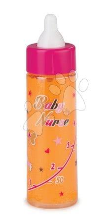 Steklenička za dojenčka Baby Nurse Zlata izdaja Smoby s pojenjajočim sokom 13 cm od 24 mes