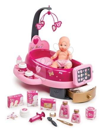 Domčeky pre bábiky - Opatrovateľské centrum pre bábiky Baby Nurse Zlatá edícia Smoby s 32 cm bábikou