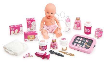 Domčeky pre bábiky - Opatrovateľské centrum pre bábiky Baby Nurse Zlatá edícia Smoby s 32 cm bábikou_1