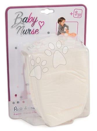 Plenky pampersky Violette Baby Nurse Smoby 4 kusy pro 27–50 cm panenku