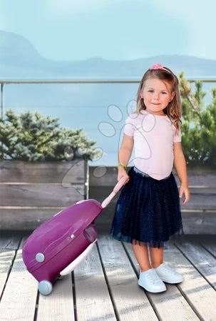Domčeky pre bábiky - Prebaľovací kufrík s postieľkou a stoličkou Violette Baby Nurse Smoby pre bábiky so 6 doplnkami od 18 mes_1