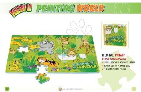 Lee Chyun - Habszivacs puzzle Jungle Lee 54 darab 60*90*1,2 cm_1