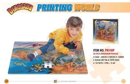 LEE PN140P Puzzle 54 ks Dino 60*90*1,2 c