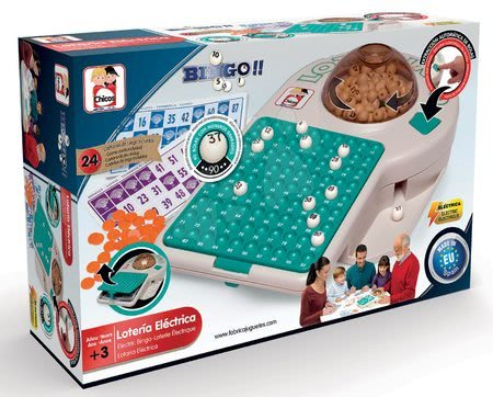 Společenská hra Lotto Bingo 24 elektronická Educa od 3 let v angličtině
