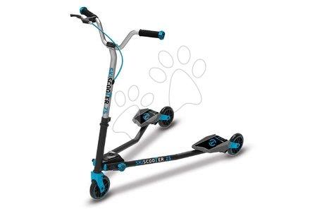 Trotinete - Trotinetă SkiScooter schiatul pe şosea smarTrike Z5 Blue albastru-negru de la 5 ani