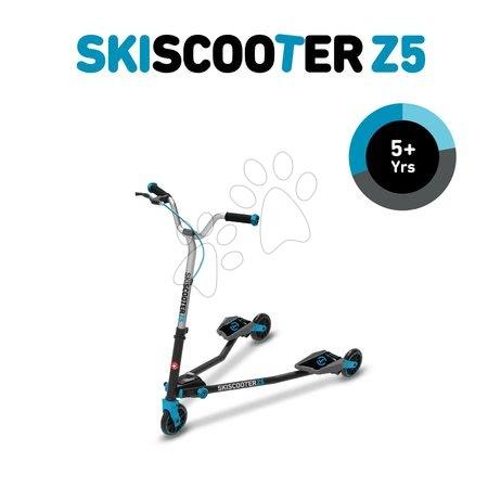 Trotinete - Trotinetă SkiScooter schiatul pe şosea smarTrike Z5 Blue albastru-negru de la 5 ani_1