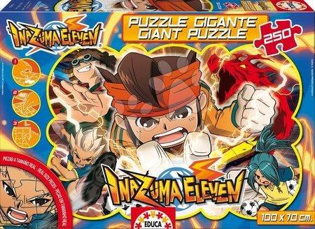 Puzzle za otroke - Puzzle Giant Inazuma Eleven Educa 250 delov od 8 leta